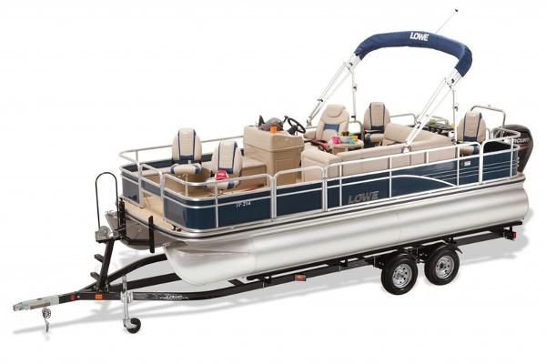 LOWE BOATS SF Pontoon 214 Fish Station & Privacy