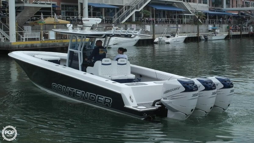 Contender 36 Open Fisherman 2002 Contender 36 Open Fisherman for sale in Homestead, FL