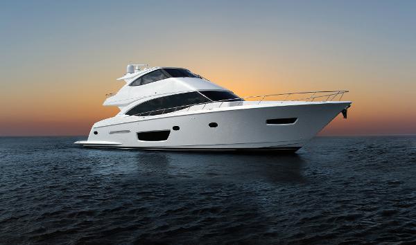 Viking 75 Motor Yacht Starboard Side