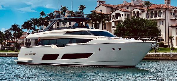 Ferretti Yachts 850 Motoryacht Profile