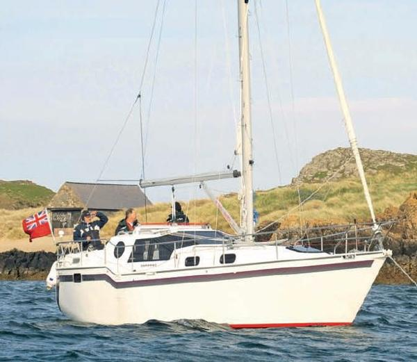 Bruce Roberts 310 From Yachting Monthly  article on Steel Dawn