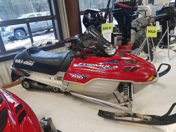 Arctic Cat Ski Doo Formula D 700 cc