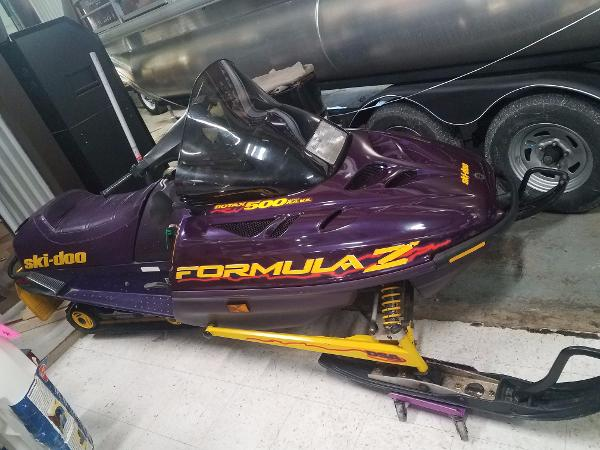 Arctic Cat Ski Doo Formula Z 500 cc