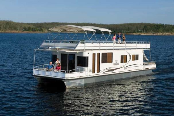 M Yacht 5015 Houseboat Manufacturer Provided Image: Why wait? Start living your dream of life on the water.