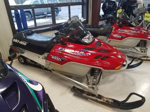 Arctic Cat Ski Doo Formula D 600 cc