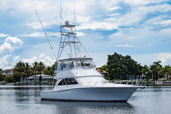 Viking 48 Conv Sport Fisher Starboard Bow Quarter