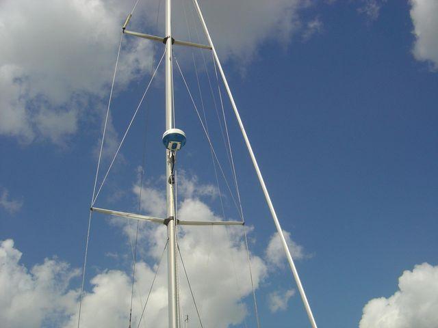 Radar on mast