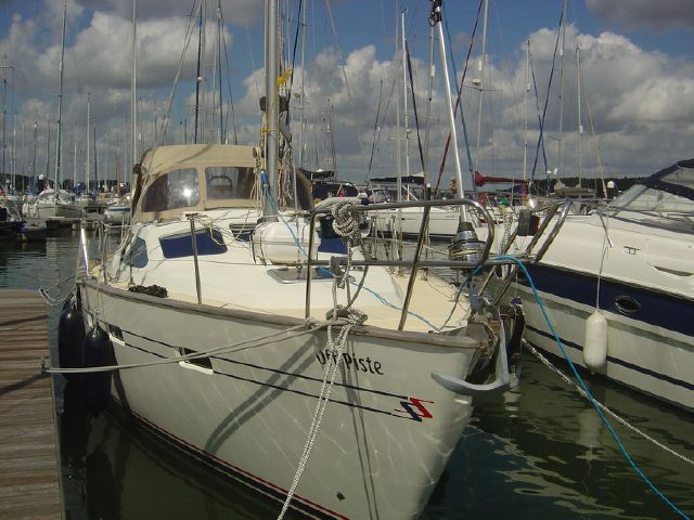 Moored showing s/side
