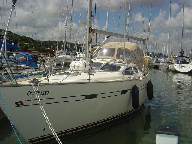 Moored showing p/side