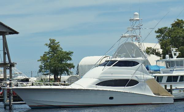 Hatteras Sportfish Enclosed Bridge