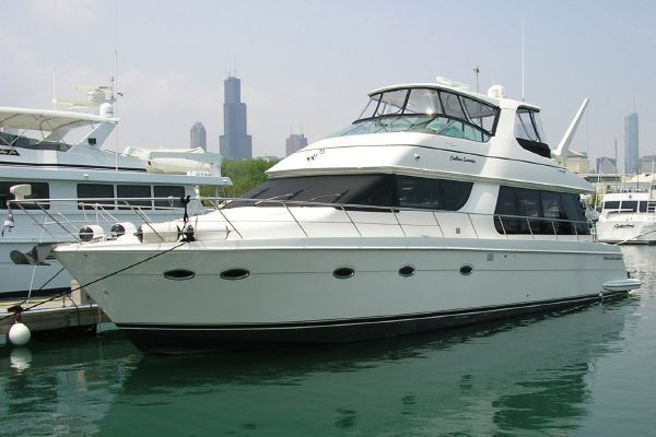 Carver 570 Voyager Pilothouse Main