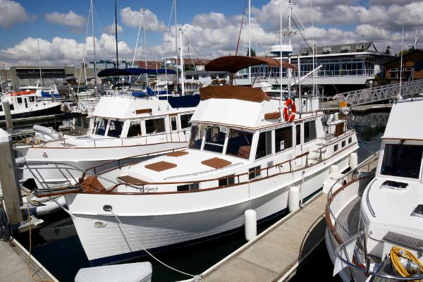 Grand Banks 42 Motoryacht At our docks