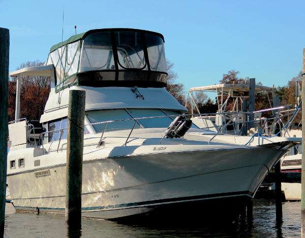Silverton 34 motor yacht boats for sale for Moriches boat and motor