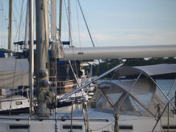 Stevens 47 Mast and Boom