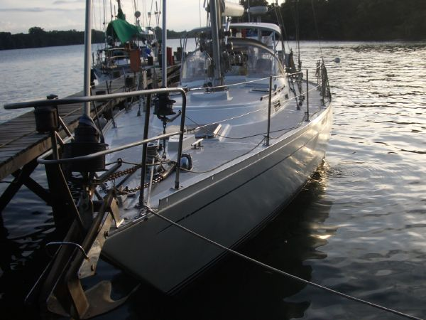 Stevens 47 Bow and Anchors