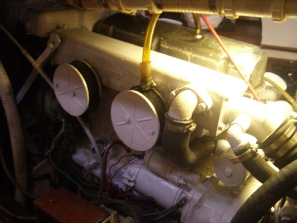 Stevens 47 Engine-Port Access