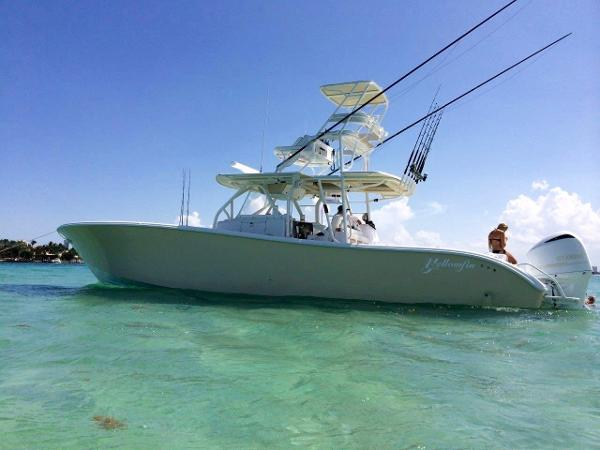 Yellowfin 42 On the Hook