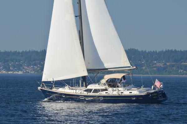 Oyster 53 Deck Saloon Sailng