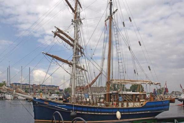 Brigantine Motor Sailer Tall  ship