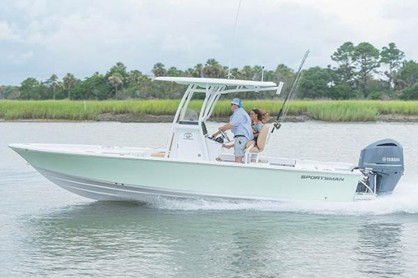 Sportsman Masters 247 Bay Boat Manufacturer Provided Image