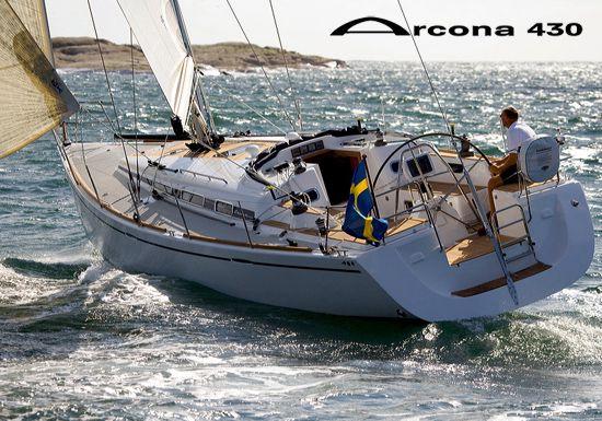 Arcona 430 Stern