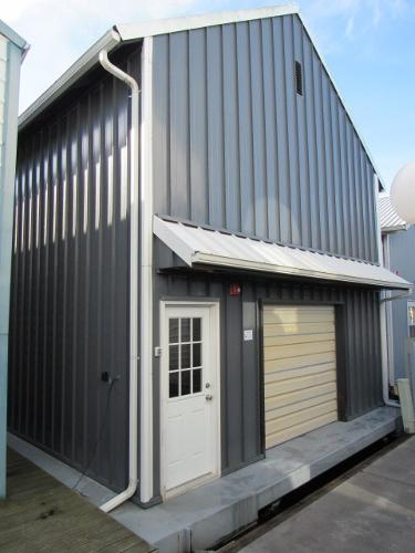 Custom Steel Boathouse