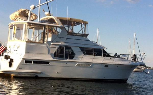 Carver 445 Aft Cabin Motor Yacht Carver 445 Lily's Pad