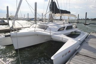 Catamarans for Sale: THE CURE, Telstar 28 , PERFORMANCE CRUISING ...