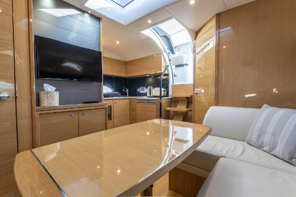 Princess V39 - Saloon and Galley