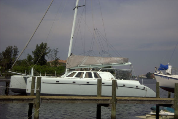 "Catamaran Custom Commercial Term Charter ""No Hurricane Damage"" Photo 1"