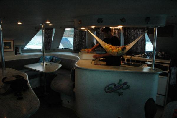 Salon - Starboard