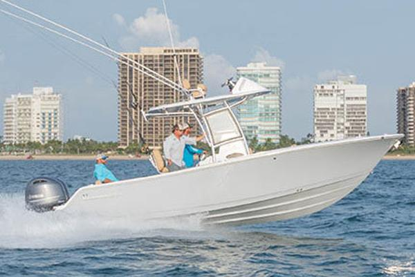 Sportsman Open 252 Center Console Manufacturer Provided Image