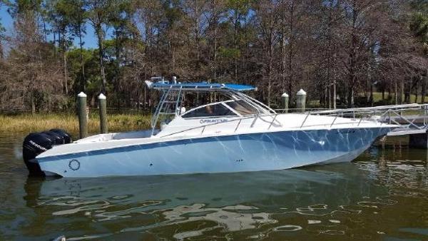 Fountain 38 Sportfish Cruiser OB