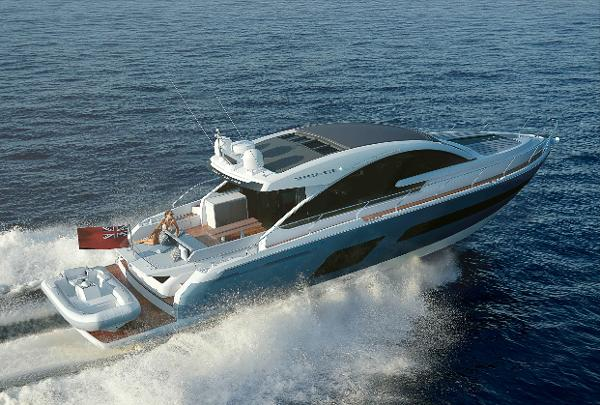 Fairline Targa 53 Gran Turismo Manufacturer Provided Image: Fairline Targa 53 Gran Turismo