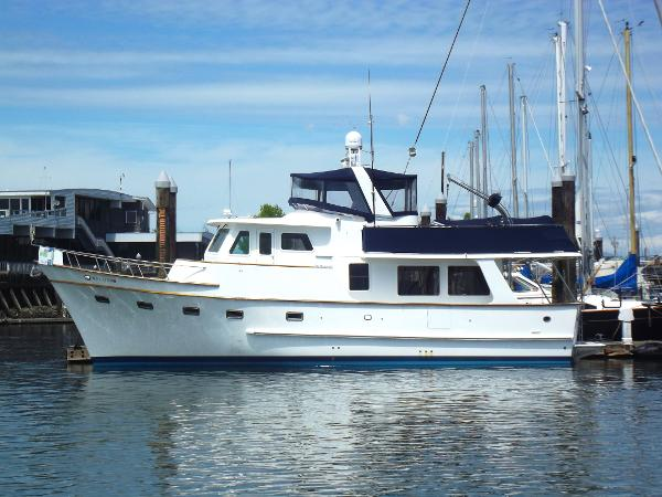 DeFever 50 Pilothouse