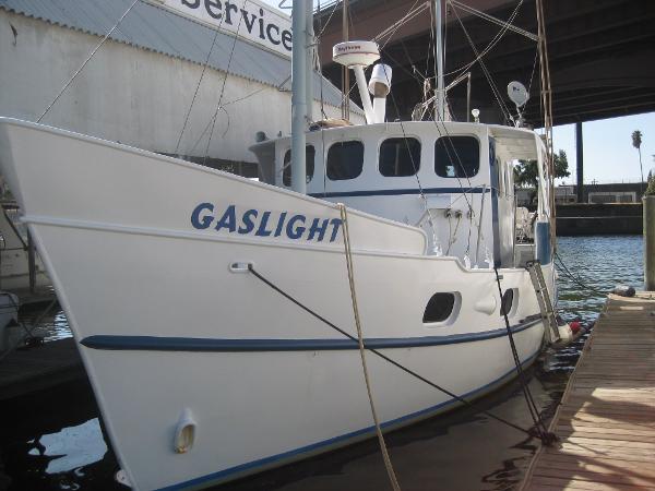 Voyager motor trawler