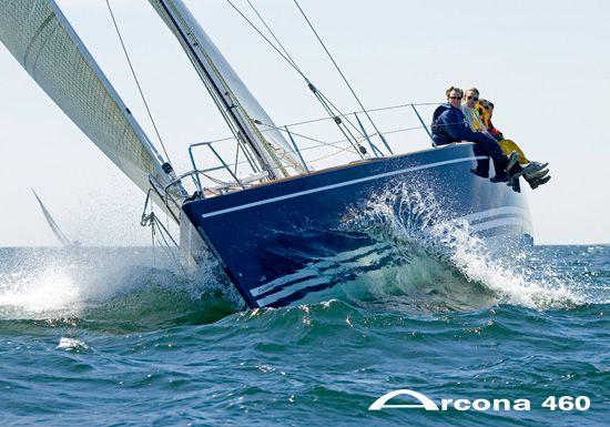 Arcona 460 Sailing