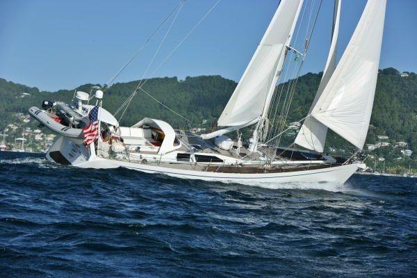 Trehard 60 profile sailing