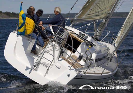 Arcona 340 Stern