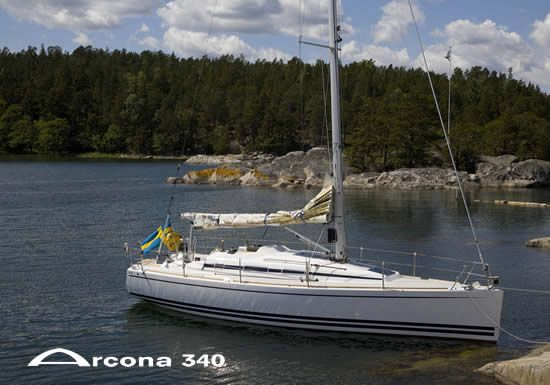 Arcona 340 Side View