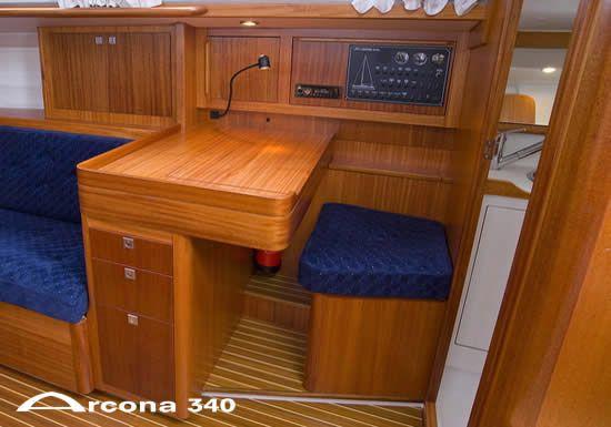 Arcona 340 Chart Table