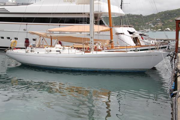 Nautor's Swan 43 Yawl Hull S side fwd