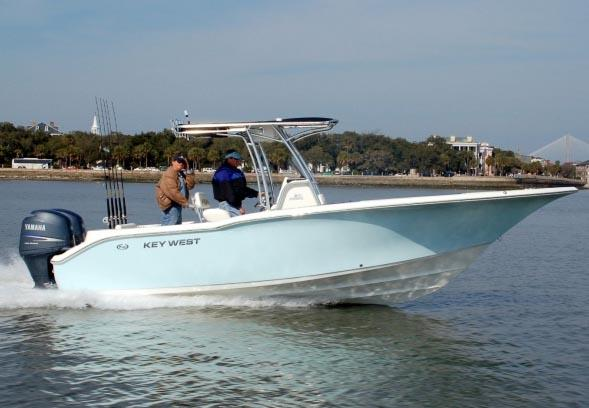 Key West 244 Center Console Manufacturer Provided Image