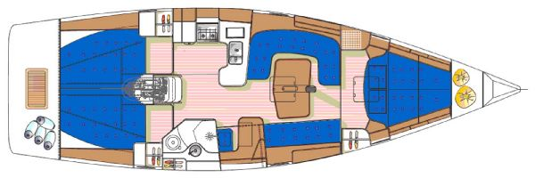 Arcona 410 Interior Layout