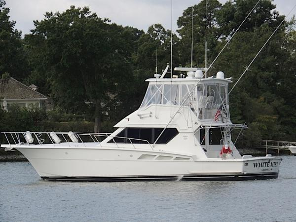 Hatteras 50 Convertible Profile