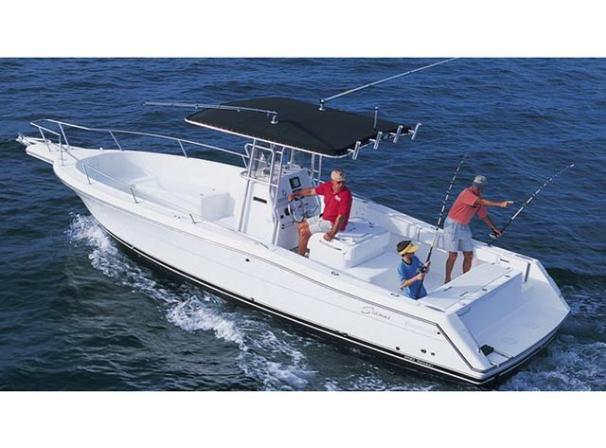 Optional inboard model.