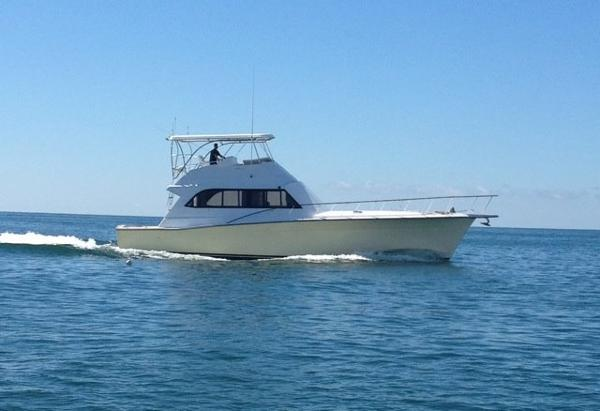 Egg Harbor 54 Sportfish 54' Egg Harbor starboard profile