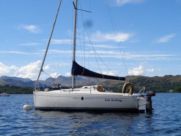 Beneteau First 211 Beneteau FIRST 211 - Port Side