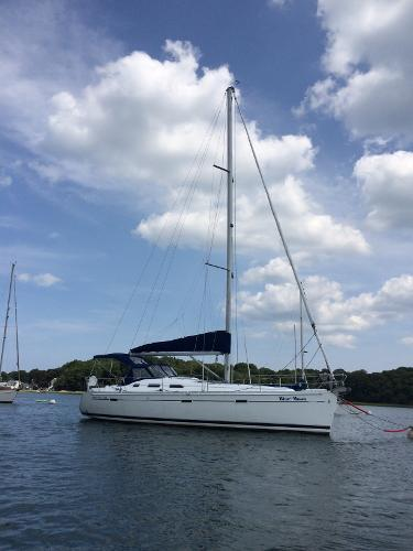 Beneteau Oceanis 393 - Two staterooms Beneteau 393 Blue Moon sitting pretty on her mooring