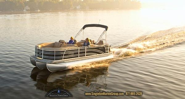 Harris Flotebote Solstice 220 with 150 HP
